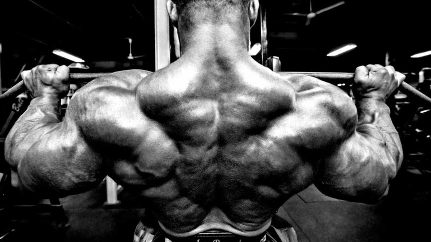 накачать трапециевидные мышцы