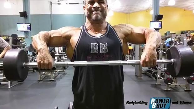 Wide-Grip-Upright-Row. Тренировка дельтовидных мышц