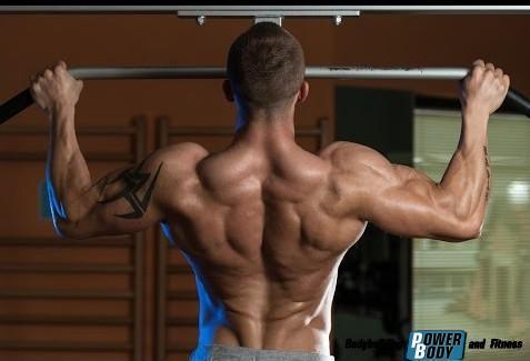 Подтягивания - для мышц спины