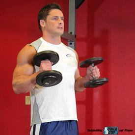 Упражнение молот (молоток) на бицепс
