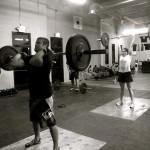 Жимовой швунг — кроссфит упражнение из тяжелой атлетики