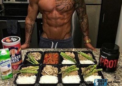 Правильное питание при тренировках.