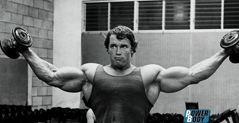 Тренировка плеч Арнольда