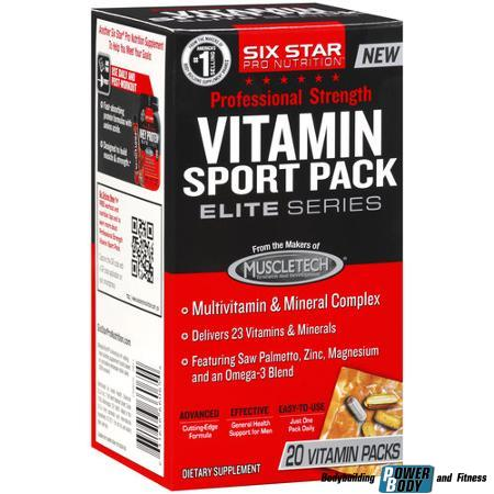 Six Star Vitamin Pack