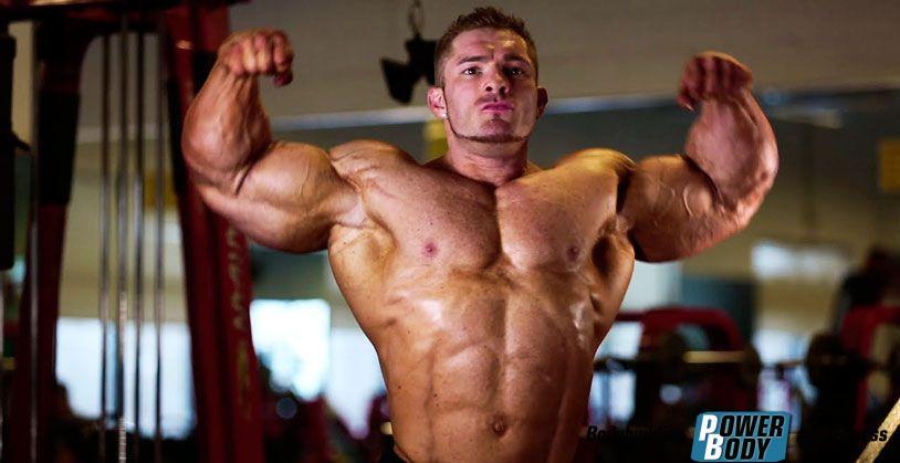 Флекс Льюис - тренировка мышц спины