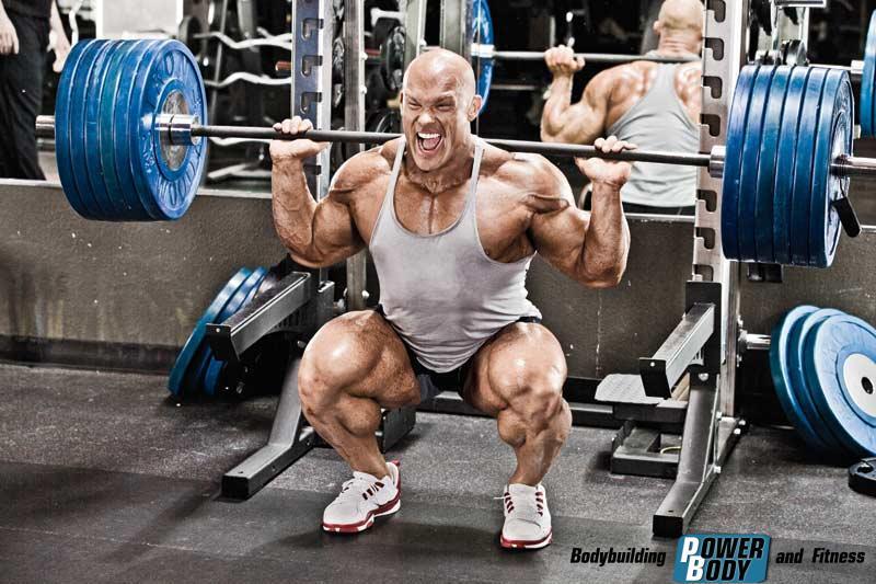 Тренировка ног Бена Пакульски