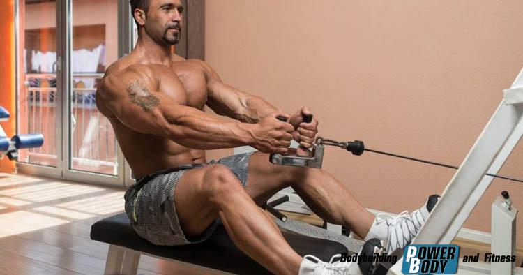 Тяга горизонтального (нижнего) блока - развиваем мышцы спины