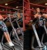 Подъем ног в упоре на локтях — на низ пресса