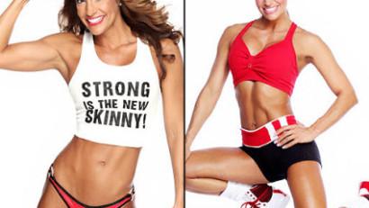 Фитнес-модель Николь Ли