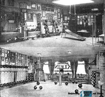 Спортзал Siegmund Klein в New York City. 1920 г