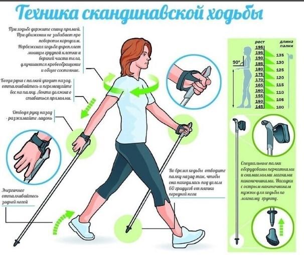 Правильная техника ходьбы